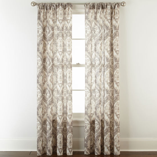 Royal Velvet Russo Rod-Pocket Curtain Panel