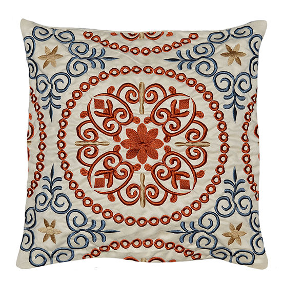 Madalyon 18x18 Square Throw Pillow