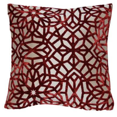 Capri Medallion 20x20 Square Throw Pillow