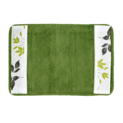Mayan Leaf Bath Rug Collection