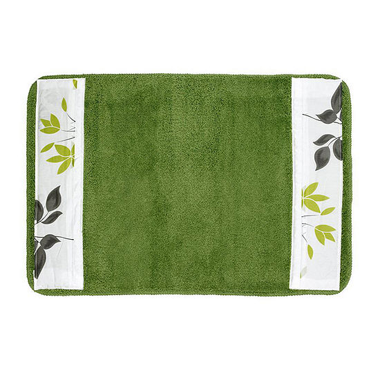 Mayan Leaf Bath Rug Collection