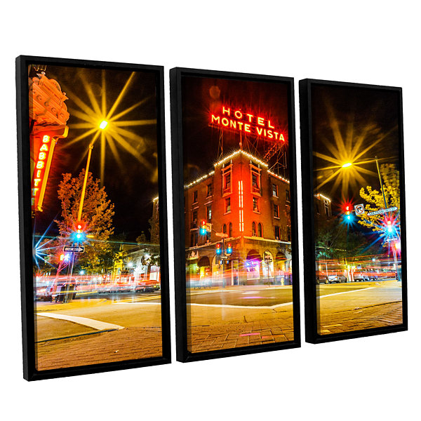 Brushtone Flagstaff 3-pc. Floater Framed Canvas Wall Art