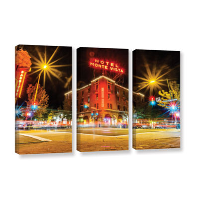 Brushtone Flagstaff 3-pc. Gallery Wrapped Canvas Wall Art