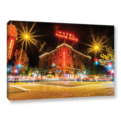 Brushtone Flagstaff Gallery Wrapped Canvas Wall Art