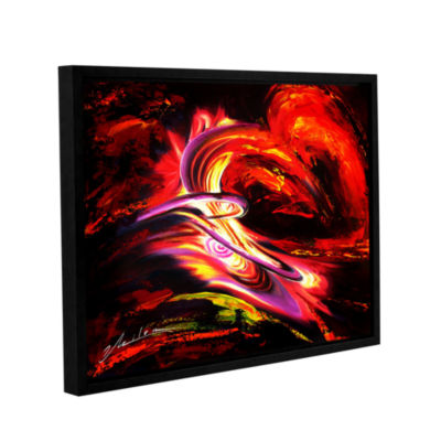 Brushtone Flair Gallery Wrapped Floater-Framed Canvas Wall Art