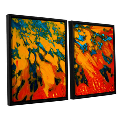 Brushtone Floating 2-pc. Floater Framed Canvas Wall Art
