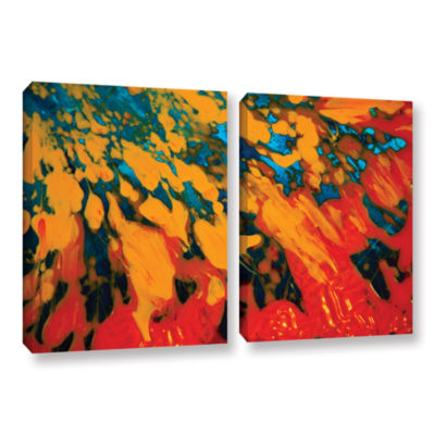 Brushtone Floating 2-pc. Gallery Wrapped Canvas Wall Art