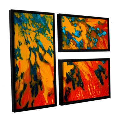 Brushtone Floating 3-pc. Flag Floater Framed Canvas Wall Art
