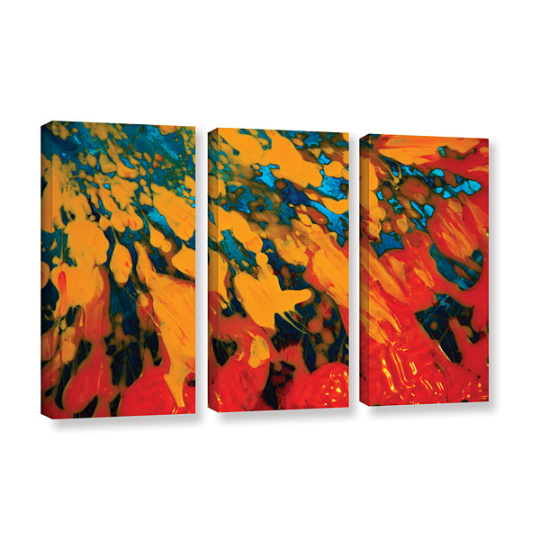 Brushtone Floating 3-pc. Gallery Wrapped Canvas Wall Art
