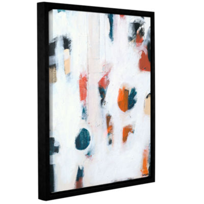Brushtone Foam I Gallery Wrapped Floater-Framed Canvas Wall Art