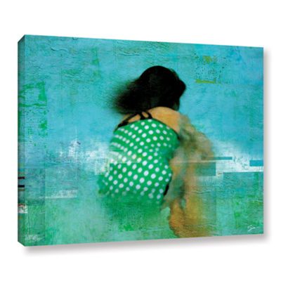 Brushtone Floating Away Gallery Wrapped Canvas Wall Art