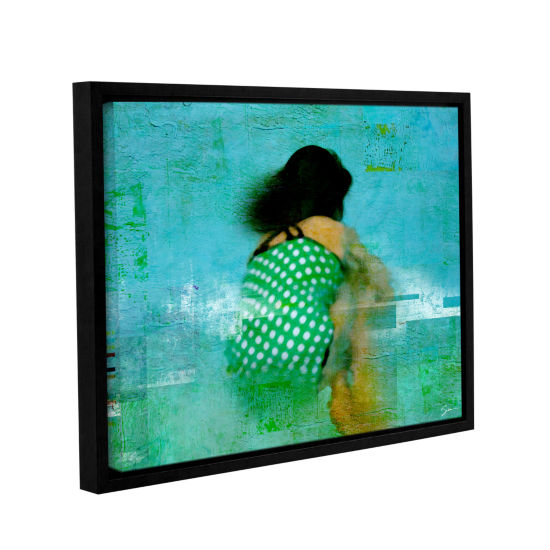 Brushtone Floating Away Gallery Wrapped Floater-Framed Canvas Wall Art