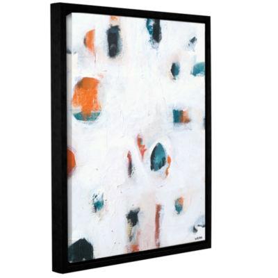 Brushtone Foam Ii Gallery Wrapped Floater-Framed Canvas Wall Art