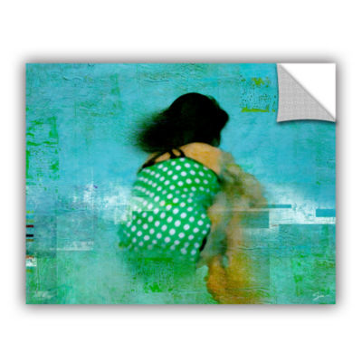 Brushtone Floating Away Removable Wall Decal