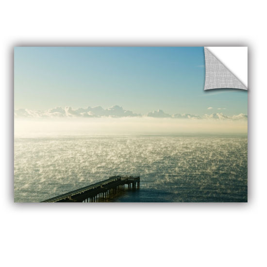 Brushtone Fog On The Ocean Removable Wall Decal