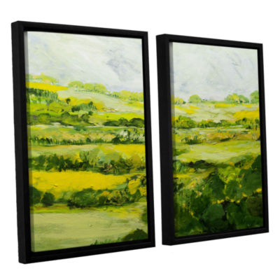 Brushtone Folkestone 2-pc. Floater Framed Canvas Wall Art