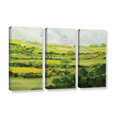 Brushtone Folkestone 3-pc. Gallery Wrapped CanvasWall Art