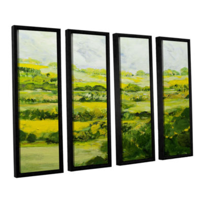 Brushtone Folkestone 4-pc. Floater Framed Canvas Wall Art