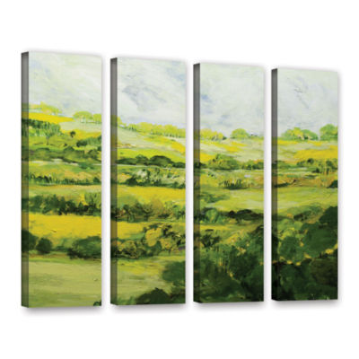 Brushtone Folkestone 4-pc. Gallery Wrapped CanvasWall Art