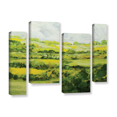 Brushtone Folkestone 4-pc. Gallery Wrapped Staggered Canvas Wall Art