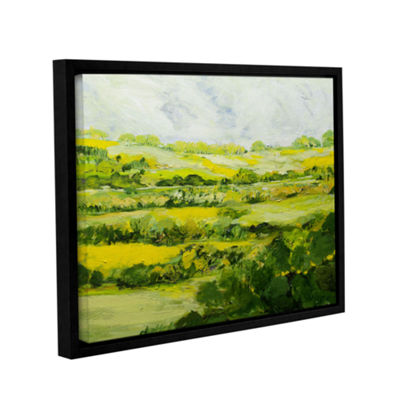 Brushtone Folkestone Gallery Wrapped Floater-Framed Canvas Wall Art