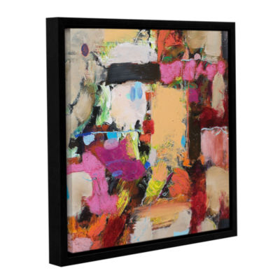 Brushtone Follies Gallery Wrapped Floater-Framed Canvas Wall Art