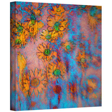 Brushtone Floral Thought Gallery Wrapped Canvas Wall Art