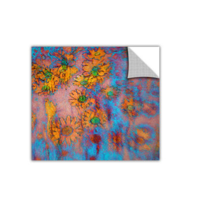 Brushtone Floral Thought Removable Wall Decal