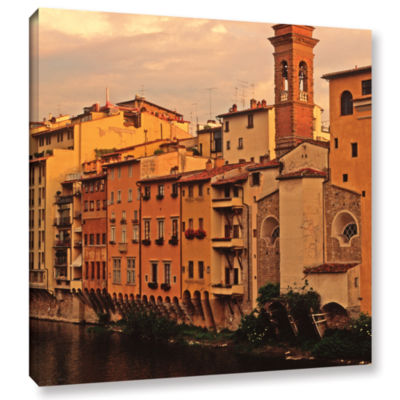 Brushtone Florence Charm Gallery Wrapped Canvas Wall Art