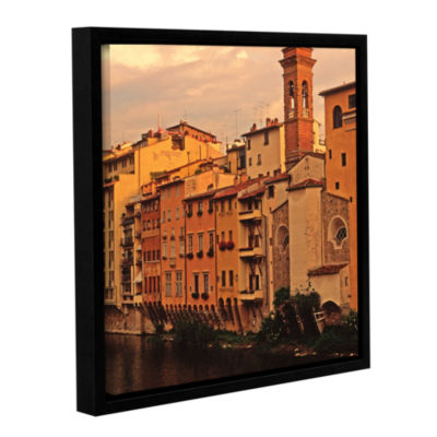 Brushtone Florence Charm Gallery Wrapped Floater-Framed Canvas Wall Art