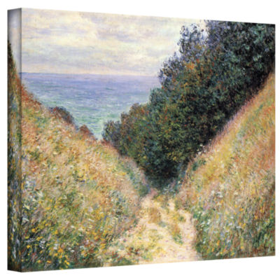 Brushtone Footpath Gallery Wrapped Canvas Wall Art