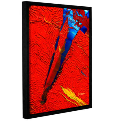 Brushtone Forbidden Paradise Gallery Wrapped Floater-Framed Canvas Wall Art