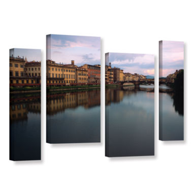 Brushtone Florence Memories 4-pc. Gallery WrappedStaggered Canvas Wall Art