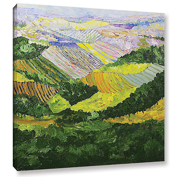 Brushtone Forest And Harvest Gallery Wrapped Canvas Wall Art