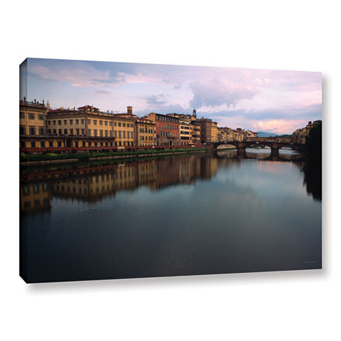 Brushtone Florence Memories Gallery Wrapped CanvasWall Art