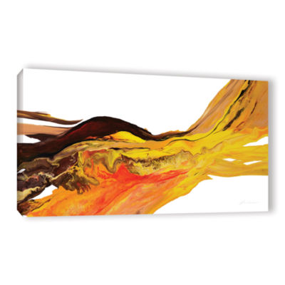 Brushtone Flow 2 Gallery Wrapped Canvas Wall Art