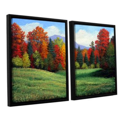 Brushtone Forest Edge 2-pc. Floater Framed CanvasWall Art