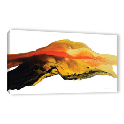 Brushtone Flow Gallery Wrapped Canvas Wall Art