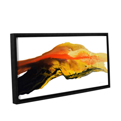 Brushtone Flow Gallery Wrapped Floater-Framed Canvas Wall Art