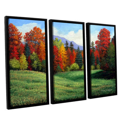 Brushtone Forest Edge 3-pc. Floater Framed CanvasWall Art