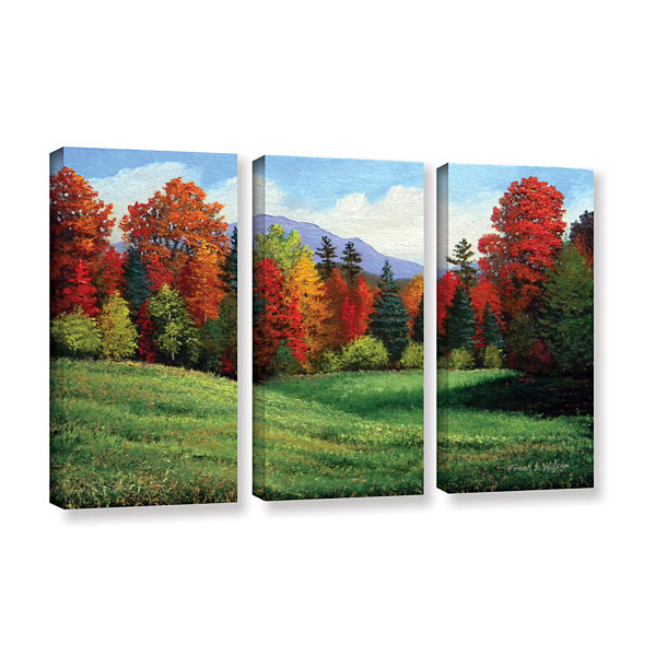Brushtone Forest Edge 3-pc. Gallery Wrapped CanvasWall Art