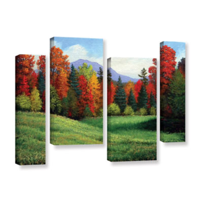 Brushtone Forest Edge 4-pc. Gallery Wrapped Staggered Canvas Wall Art