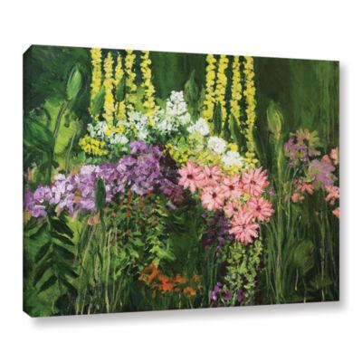 Brushtone Flower Dance Gallery Wrapped Canvas WallArt