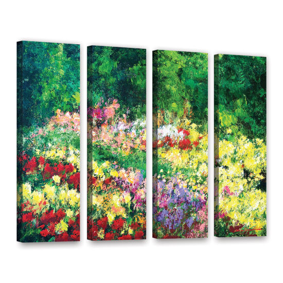 Brushtone Forest Garden 4-pc. Gallery Wrapped Canvas Wall Art