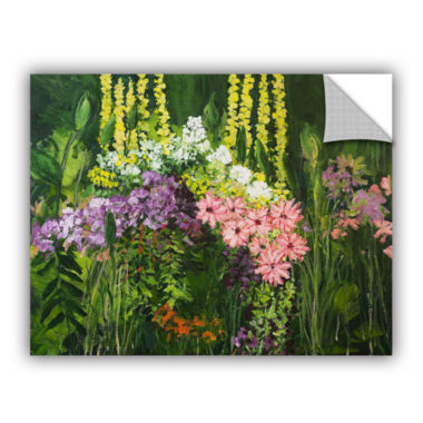 Brushtone Flower Dance Removable Wall Decal