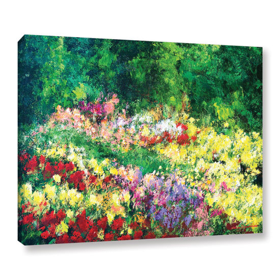 Brushtone Forest Garden Gallery Wrapped Canvas Wall Art