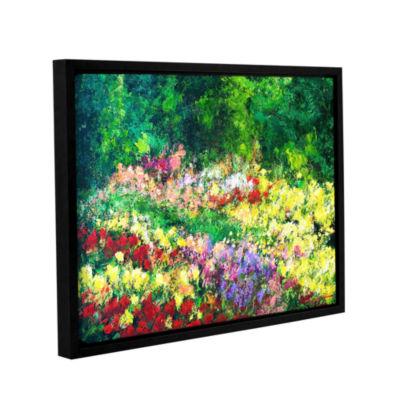 Brushtone Forest Garden Gallery Wrapped Floater-Framed Canvas Wall Art