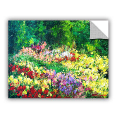 Brushtone Forest Garden Removable Wall Decal
