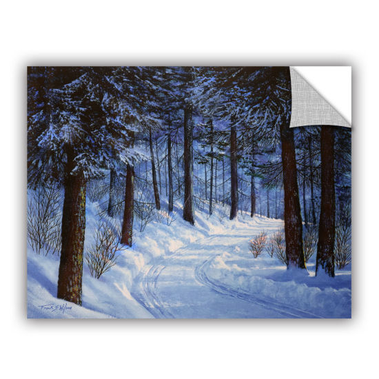 Brushtone Forest Road Removable Wall Decal