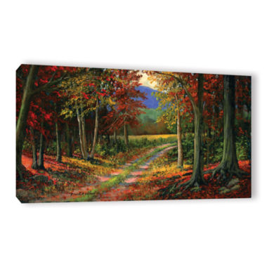 Brushtone Forgotten Road Gallery Wrapped Canvas Wall Art